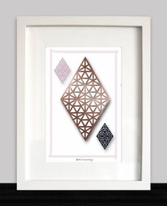 DIY PRINTABLE ART ~ Pink, Black , Rose gold foil lines ~ Gold Foil ~ Instant download ~ Wall decoration, Office wall art ~ Geometric art door ThreeHousesDesign op Etsy Fine Paper, Paper Art, Office Wall Art, Rose Gold Foil, Party Poster, Make Design, Pink Black, Art Day, Geometric Shapes