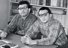 This day was born science fiction writer Boris Strugatsky (1933-2012), who wrote in collaboration with his brother Arkady. Photo 1965.