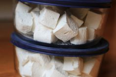 How to make homemade marshmallows - The Frugal Girl  I like to roll mine in toasted coconut, these are sooo much better than store bought