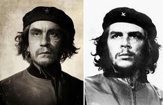 Sandro Miller, Alberto Korda / Che Guevara (1960), 2014Portraits of John Malkovich