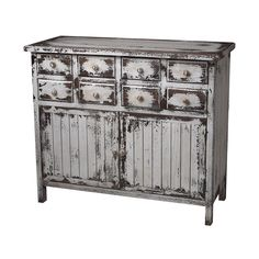 Sterling Industries 128-1023 Chest in Heavily Distressed White Finish