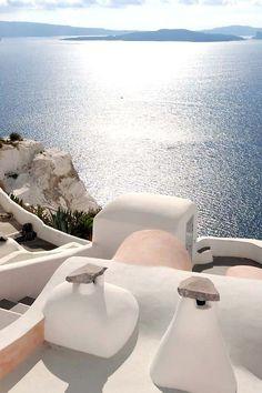 Oia view, Santorini, Greece