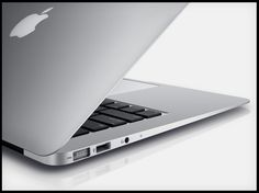 MacBook Air with Intel i7 chip and flash memory.