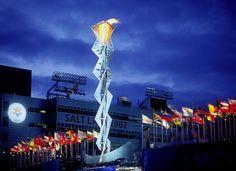 Salt Lake 2002 Olympic Cauldron Park, Utah
