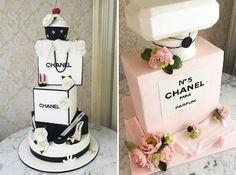 Chanel, Dior, Prada... Para as debutantes que amam moda, selecionamos 14 ideias de bolos fashionistas para a festa de 15 anos!