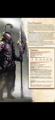 Dungeons And Dragons Rules, Dungeons And Dragons Classes, Dungeons And Dragons Homebrew, Dnd Stats, Fantasy Craft, Dnd Races, Dnd Classes, Monster 2, Dnd 5e Homebrew