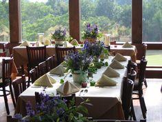 Crestwood Inn - spring blues for flowers