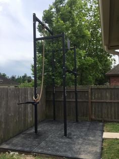 The Castro Rig takes the key components from the original Castro Rig and builds upon them for a next level strength training experience. Home Gym Garage, Diy Home Gym, Best Home Gym, Ideal Home, Crossfit Home Gym, Crossfit Equipment, Home Gym Design, House Design, Gym Shed