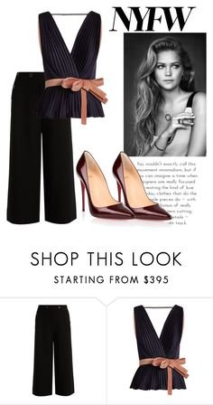 """Bold and Beautiful"" by rainbow1027 ❤ liked on Polyvore featuring TIBI, Roksanda and Christian Louboutin"
