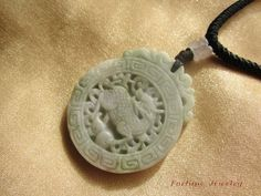 $49.99 Kilin Green Jade Gemstone Talisman Necklace by Fortune Jewelry & Healing Beauty, http://www.amazon.com/dp/B00B0ECV0C/ref=cm_sw_r_pi_dp_ppuLrb0ZQN1NH