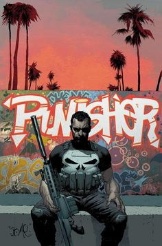 Punisher Vol.9 #1 (Cover art by Jerome Opeña)