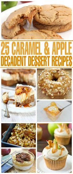 25+ Decadent Caramel
