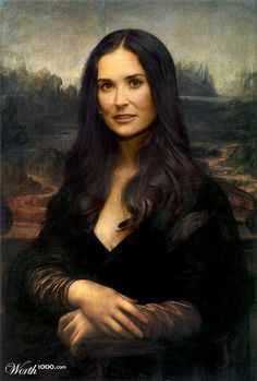 25 Celebrities Humorously Re-Imagined as Classic Paintings. Follow us www.pinterest.com/webneel