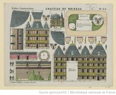 Château de Brissac, Imagerie d'Epinal, Pellerin, 1885