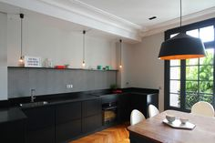 modern apartment 101 Colorful Apartment Design in the Chic 7th District of Paris