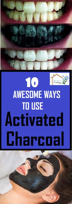 Activated Charcoal is great for whitening teeth, removing toxins from the body and ........ #lifehacks #hacks #health #healthtips