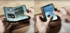 Samsung 'Galaxy X': A Powerful Folded Smartphone Like Paper