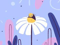 "digitalloop:  ""Hungry Bee by Animade | Tumblr  """