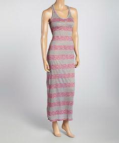 Another great find on #zulily! Purple Stripe Racerback Dress #zulilyfinds
