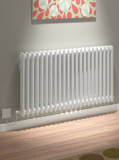 5060235346217 Kudox Electric Radiator Evora 2 Column x White IS Electric Radiators, Column Radiators, Central Heating, Industrial House, Living Room Designs, Living Rooms, Heating And Cooling, Yorkshire Dales, Hallway Ideas