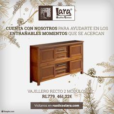 Ve preparándote para la Navidad #rusticoslara #mueblesrusticoslara #mueblesencrudo #mueblesdecalidad #mueblesdepino #mueblesonline #mueblessinmontaje #hierroforjado #esparto #vitrinascalidad #vitrinasbonitas #vitrinaparapintar #mueblespinturaalatiza Raw Furniture, Furniture Making, Natural Wood, Cabinet, Storage, Home Decor, Pine Furniture, Rustic Furniture, Cabinets