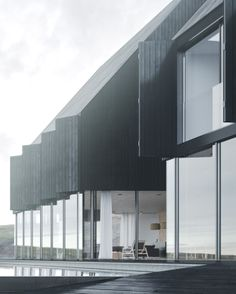 Icelandic coastal house by Juraj Talcik and Veronika Demovicova