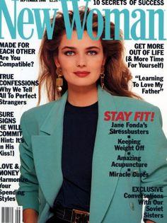 Paulina Porizkova - New Woman Magazine [United States] (September 1990)