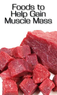 Foods to Help Gain Muscle Mass http://lifelivity.com/foods-gain-muscle-mass/