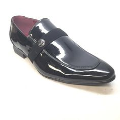 Alberto Fellini Black Patent PU Leather Loafer - Dudes Boutique Leather Loafers, Loafers Men, Pu Leather, Men's Shoes, Dress Shoes, High End Shoes, Formal Shoes, Oxford Shoes, Accessories