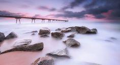 ROCKS IN THE BEACH - null