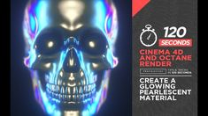 120 Seconds - Cinema & Octane Render - Create A Glowing Pearlescent Material Cinema 4d Tutorial, 3d Tutorial, Motion Design, Design Thinking, Cinema 4d Render, Design Ios, Blender Tutorial, Tip Jars, Video Game Development