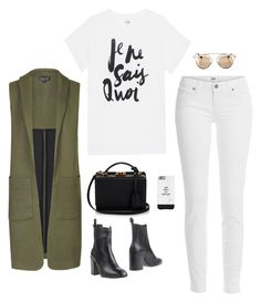 """""""je ne sais quoi"""" by ohhiitsnina ❤ liked on Polyvore featuring Sincerely, Jules, Topshop, Paige Denim, Eqüitare, Mark Cross and Christian Dior"""