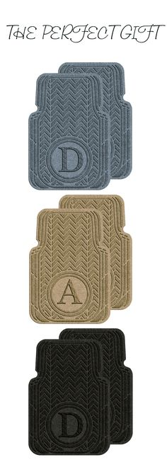 Give the gift of premium personalized car mats this Father's Day! Shop Waterhog Car Mats at waterhogcarmats.com