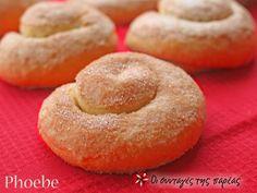 Ταχινόπιτες #sintagespareas Greek Sweets, Bread And Pastries, Greek Recipes, Sweet Bread, Food To Make, Sweet Tooth, Brunch, Cooking Recipes, Snacks