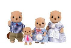 Sylvanian Familie Otter Familie Otti bestehend aus 4 Seeotter Figuren - Bonuspunkte sammeln, auf Rechnung bestellen, DHL Blitzlieferung!