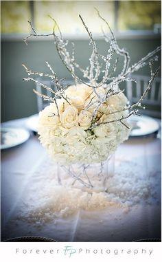 winter wonderland themed centerpiece decorations | ... Reception Centerpieces Winter Ideas, Wedding Centerpieces Winter Ideas