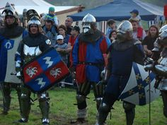 The knight tournament in the castle of Iłża