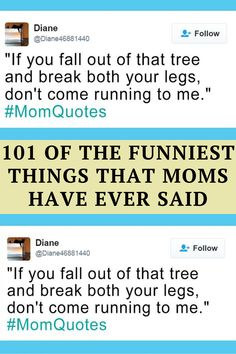 Jimmy Fallon is asking people to tweet out something weird, funny, or embarrassing that their moms have said by using the hashtag #MomQuotes. It's for his latest hashtag game, and the best will appear on his show, but as you can see from this hilarious list, he's going to have real trouble deciding which ones are the funniest!