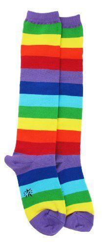 Sock It To Me Rainbow Knee High Womens Socks Sock It To Me, http://www.amazon.com/dp/B002TXYA7U/ref=cm_sw_r_pi_dp_LAvarb0RCQT1V