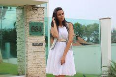 Como usar vestido branco com estilo | CBBlogers