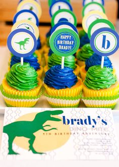 Dino-Mite dinosaur party #pinparty