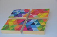 Geometric Triangle Key Holder Jewelry by blinchikberlinfaktur