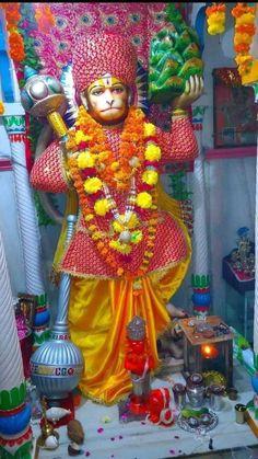 Hanuman Hd Wallpaper, Lord Hanuman Wallpapers, Durga Kali, Durga Goddess, Mata Rani, Hanuman Chalisa, Sita Ram, Hindu Dharma, Om Namah Shivaya