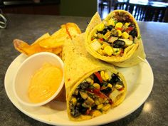 Southwest Vegetarian Wrap!