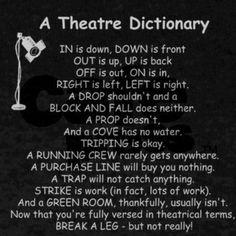 Theatre: Where even definitions are creative