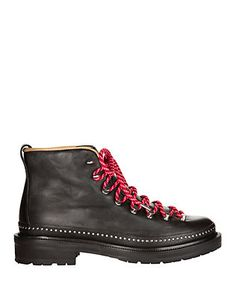 Rag & Bone Compass Lace-Up Leather Booties