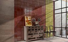 Die Verkleidungskollektion Maiolica ist an der Tradition inspiriert, um originelle Zusammensetzungslösungen anzubieten, die sich auch an die raffiniertesten Räume des Alltags anpassen