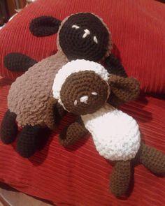 24 horas es poco...: Sleep baby sheep / ovejitas dormidas - patrón en español