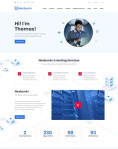 Nexbunker - ModelTheme Hosting Company, Best Wordpress Themes, Page Layout, News Online, Author, Writers, Layout Design, Layout