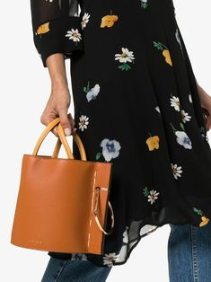 Shop Danse Lente Brown Bobbi leather bucket bag from our Bucket Bags collection. Danse Lente, Women Wear, Brown, Leather, Bucket Bags, Fashion Design, Collection, Shopping, Products